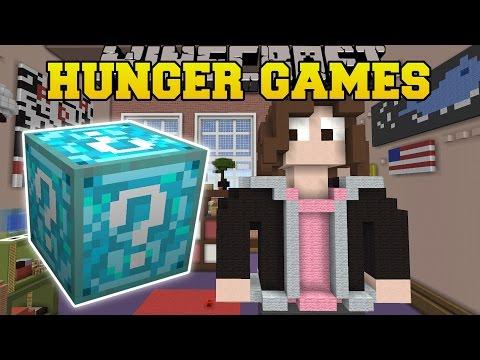 Minecraft: LIFE IS STRANGE HUNGER GAMES - Lucky Block Mod - Modded Mini-Game thumbnail