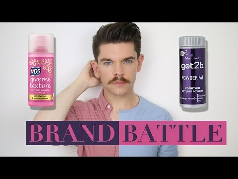 VO5 Give Me Texture Powder vs. Got2b powder | Brand Battle