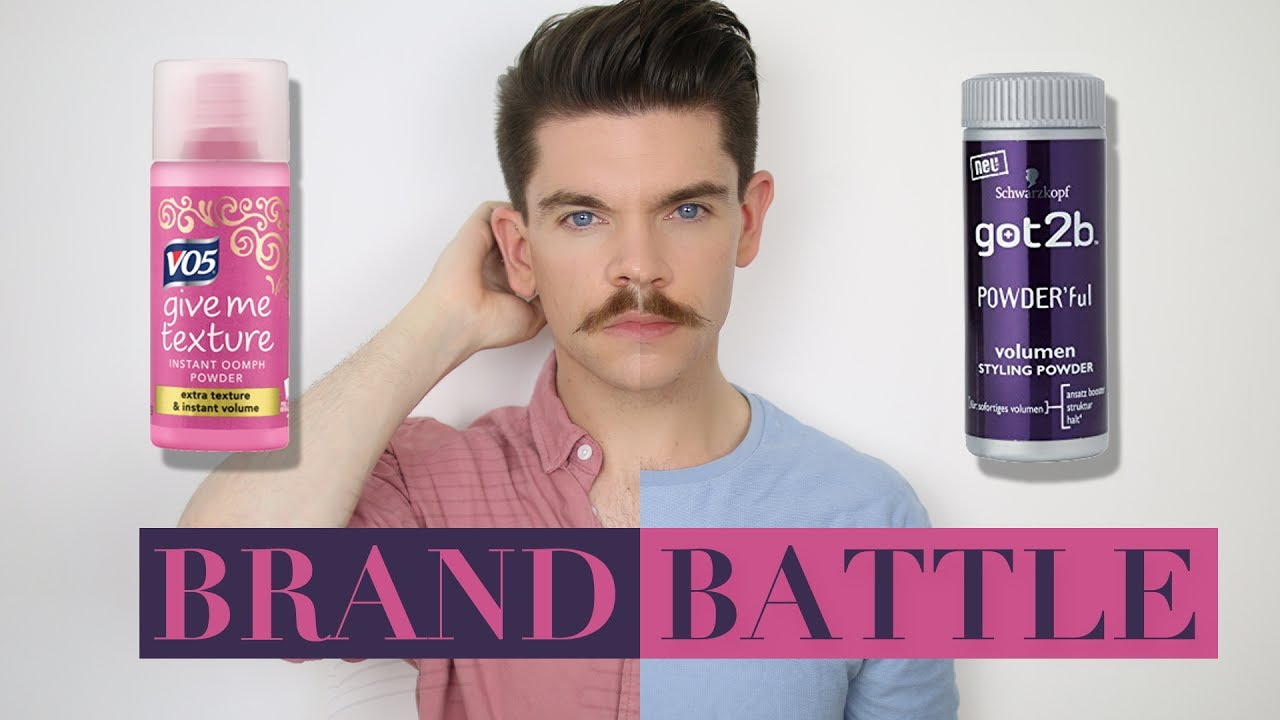 Vo5 Give Me Texture Powder Vs Got2b Powder Brand Battle Youtube