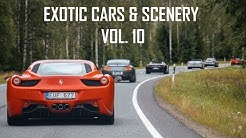Exotic Cars and Scenery Vol. 10  |  VLOG 14  |  CARS WITH ROBERT