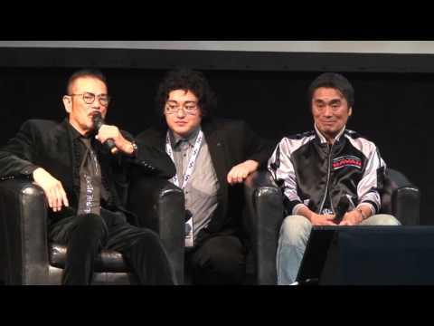 Paris Manga & Sci-fi Show Conference X-or Kenji Ohba & Sonny Chiba
