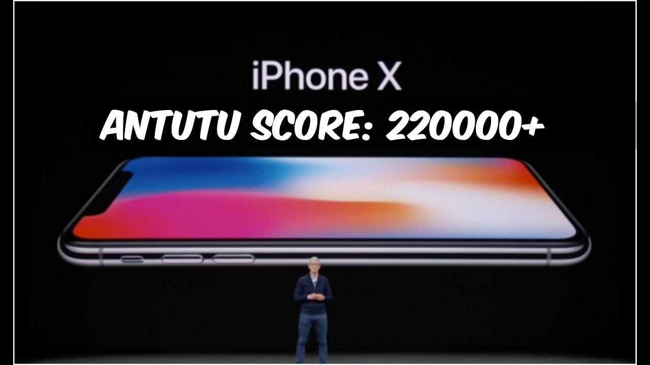 Antutu Iphone X