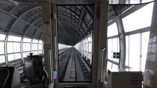 札幌市営地下鉄 南北線 南平岸から真駒内の展望 Sapporo Subway