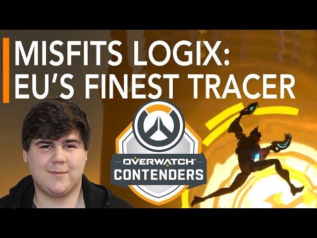 Overwatch Gameplay | Misfits Logix : EUs Finest Tracer VS GamersOrigin ft TviQ Pharah | Contenders