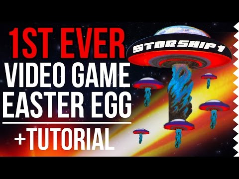 DISCOVERED: The First Ever Video Game Easter Egg | Tutorial | The Easter Egg Hunter