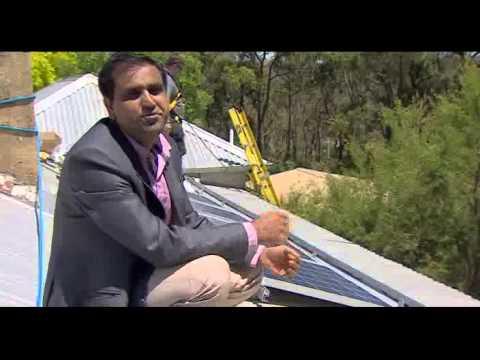 India's solar entrepreneur Down Under
