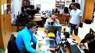 Фрагмент записи видео с камеры Link NC223W-IR