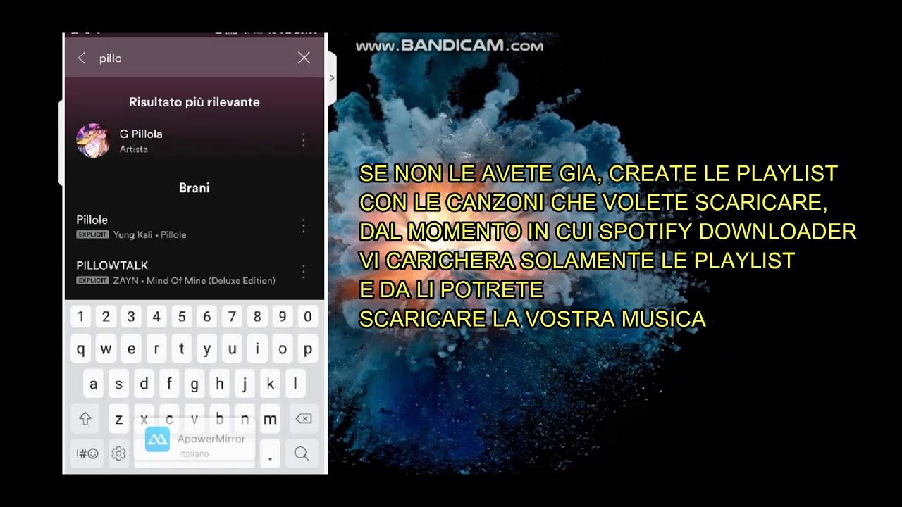 Scaricare canzoni da spotify android