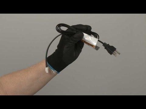 Power Cord – Kitchenaid Gas Downdraft Cooktop Repair (Model #KCGD506GSS00)