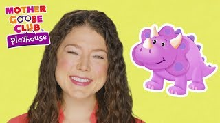 Ten Little Dinosaurs | Dinosaur Counting Game | Mother Goose Club Playhouse Kids Video