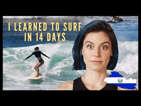 I learned to surf in 14 days