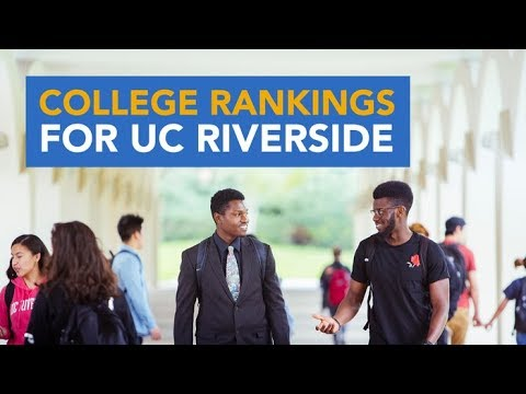 UC Riverside - One Of America's Best Universities