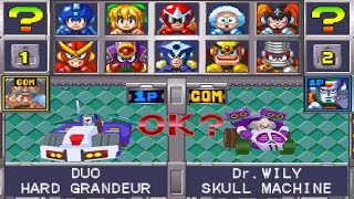 Mega Man Battle & Chase All Characters [PSX]