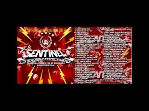 Sentinel - Dancehall Mixes Vol. 20 - Diamonds Conscious Selection Mix CD 2010 Preview