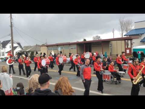 Franklin Pierce High School Band - 2017 Daffodil Parade