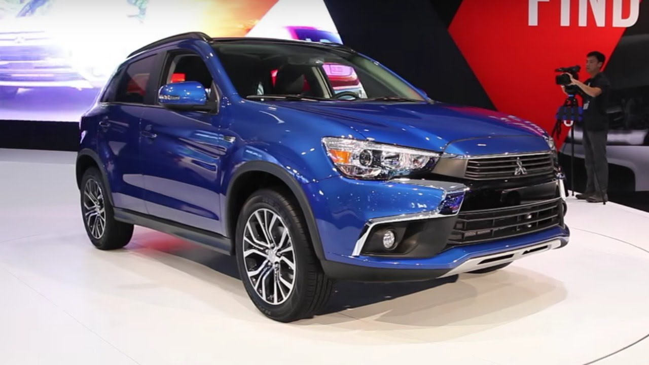 2016 mitsubishi outlander sport 2015 la auto show youtube. Black Bedroom Furniture Sets. Home Design Ideas