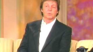 Paul McCartney on the View January 14, 2009 (part1)