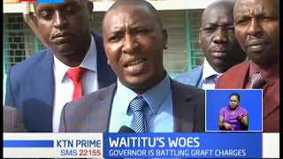 Kiambu county assembly members fail to impeach governor Waititu and his deputy
