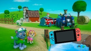 Paw Patrol on a Roll Gameplay Nintendo Switch