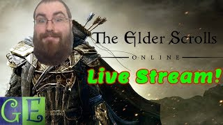 The Elder Scrolls Online ESO Live Stream Gaming Right Now