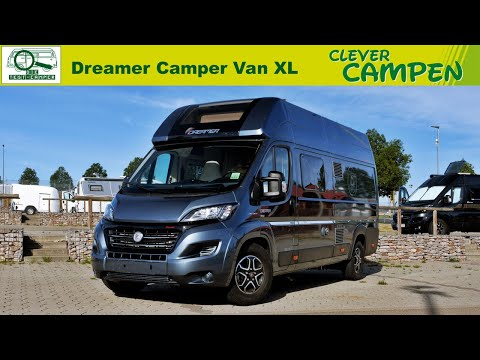 Dreamer Camper Van XL: Extra-großer Campingbus mit Hubbett - Test/Review | Clever Campen