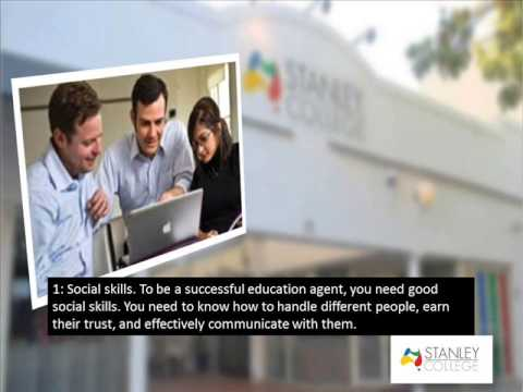Want To Become An Education Agent Perth Of Stanley College
