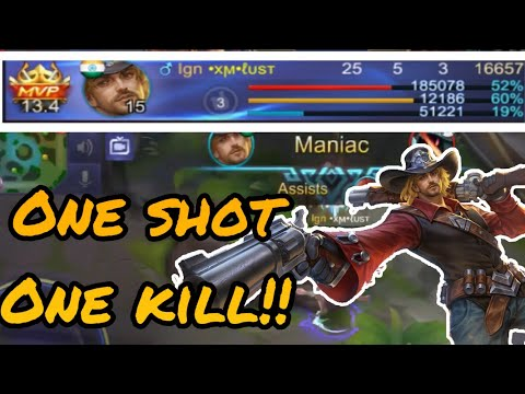 The Most Underrated Marksman - CLINT   Mobile Legends