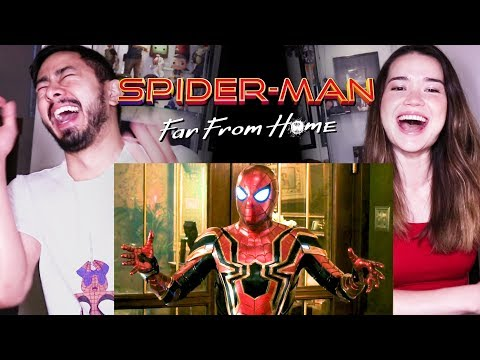 SPIDER-MAN: FAR FROM HOME | Official Trailer | Reaction!