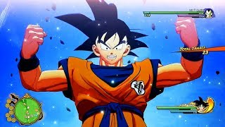 NEW 10 Minutes of Dragon Ball Z: Kakarot DEMO Gameplay - OPEN WORLD Free Roam RPG Gameplay