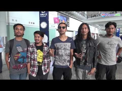 Alive-4 hk. UNDERSIDE Band Artits Arrived In Hong Kong