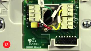 Substitute G-Wire for C-Wire -- Install the Honeywell Wi-Fi smart thermostat with this video.