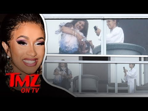 Cardi Bs Baby, Kulture, Seen for First Time!   TMZ TV