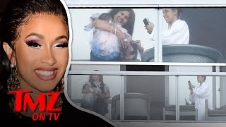 Cardi B's Baby, Kulture, Seen for First Time! | TMZ TV