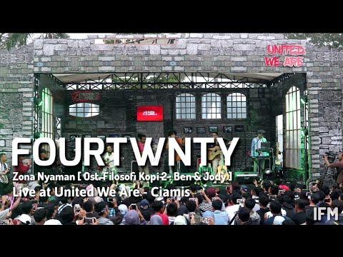 Fourtwnty - Zona Nyaman [ Ost Filosofi Kopi 2 : Ben & Jody ] At SuperMusic.id  United We Are  Ciamis