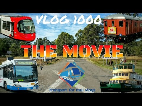 Transport for NSW Vlog No.1000 The Movie