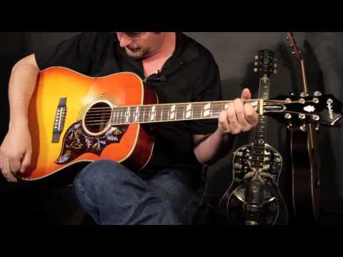 Guitar Review: Epiphone Hummingbird