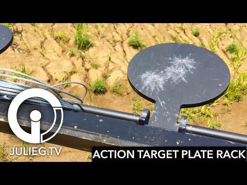 Unboxing & Assembling New Action Target Plate Rack | JulieG.TV