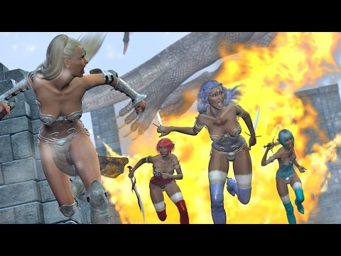 "DIGITAL COMIC - ""Fantasy Castle Ruins"""