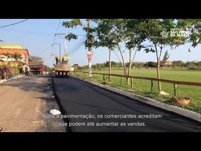 PREFEITURA INFORMA #8 | Pavimentação na Estrada da Rua do Fogo