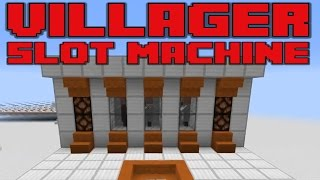 Slot Machine in Minecraft - Gamble for Diamonds with Villagers! | Docm77