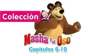 Masha y el Oso - Сolección 1 (Capítulos 6-10)  Dibujos Animados en español!