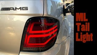 Mercedes ML Tail Light Installation (W164)