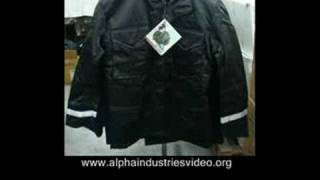 Field, Parka, Snowrker Alpha Industries Made in USA