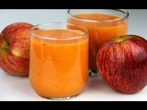 Apple Carrot Orange Smoothie Day 5 | CaribbeanPot.com