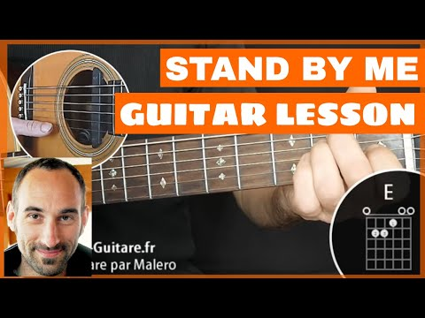 Stand By Me Guitar Lesson - part 1 of 2