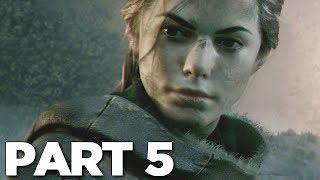 A PLAGUE TALE INNOCENCE Walkthrough Gameplay Part 5 - LUCAS (PS4 Pro)