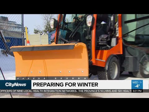 City Crews Testing New Snow Removal Equipment