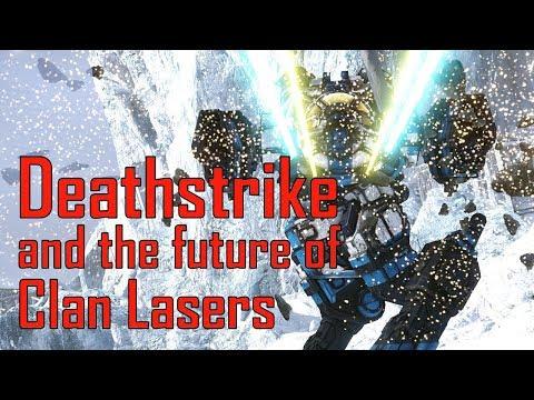 MCII-DS Deathstrike and Future of Clan Laser Vomit - MechWarrior Online