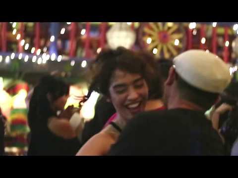 Salsa social dancing at Amigos Kemang Club Villas, Jakarta