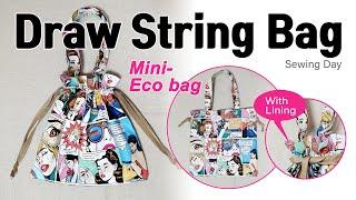 DIY Draw String Bag 스트롱미니백 / 미…